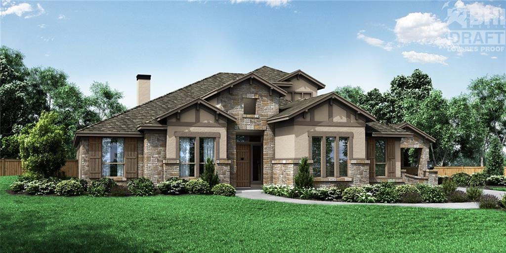 Single Family for Active at La Ventana - Residence 4317 170 Lone Spur Lane Driftwood, Texas 78619 United States