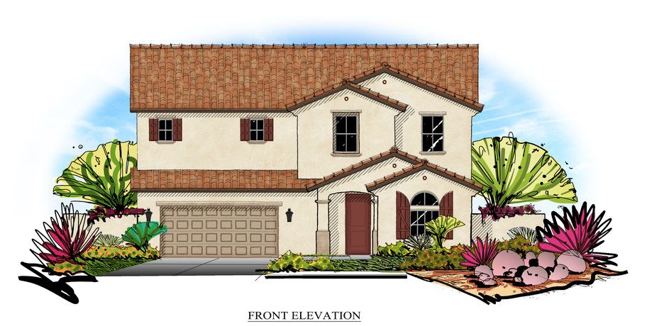 Single Family for Sale at Joshua West - Plan 3 44023 Generation Ave. Lancaster, California 93536 United States