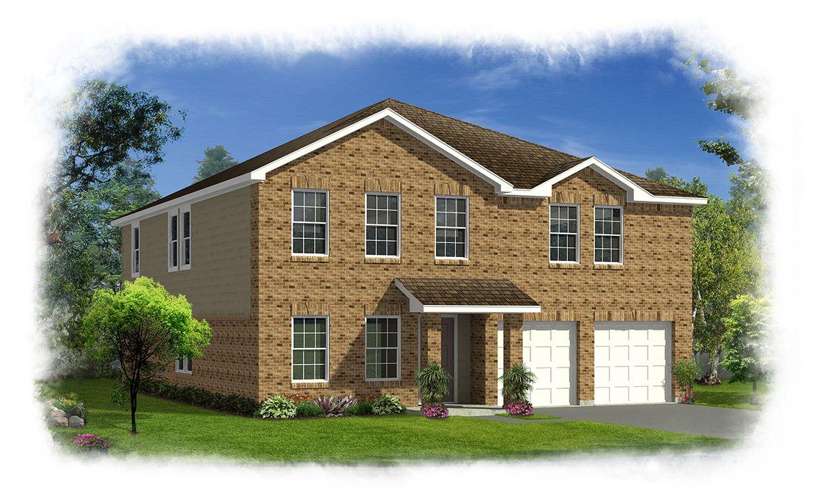 History Maker Homes Chisholm Trail Ranch Elm 3302