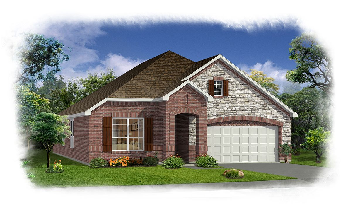 Arrowbrooke 50 39 S New Homes In Aubrey Tx By History Maker Homes