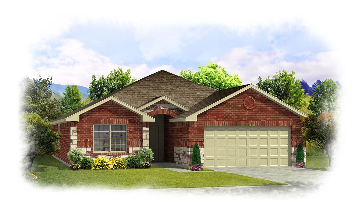 Single Family for Sale at Redwood-1691 244 Willow Creek Lane Terrell, Texas 75160 United States