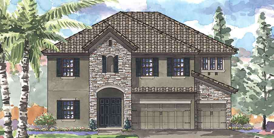 Single Family for Sale at Waterleaf - Granada I 11889 Frost Aster Drive Riverview, Florida 33579 United States