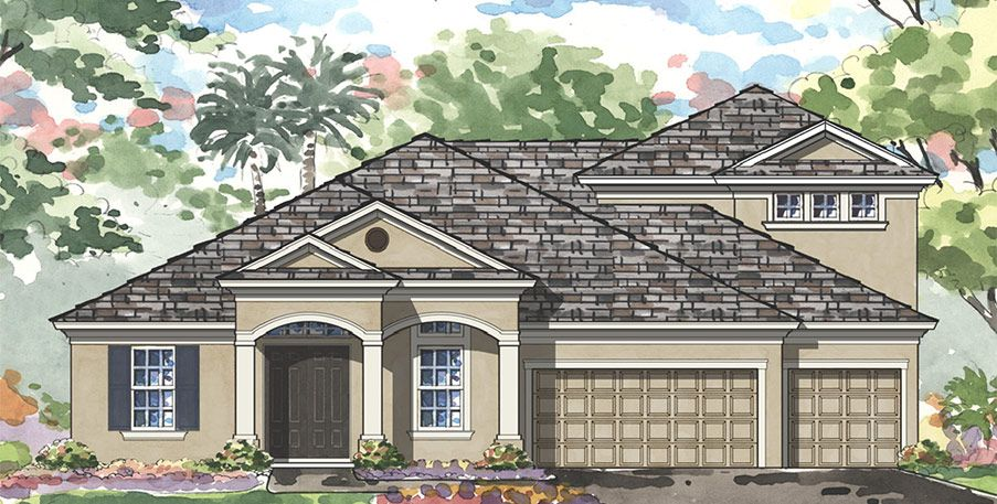 Single Family for Sale at Longleaf - Key Largo Grand 4252 Glade Wood Loop New Port Richey, Florida 34655 United States