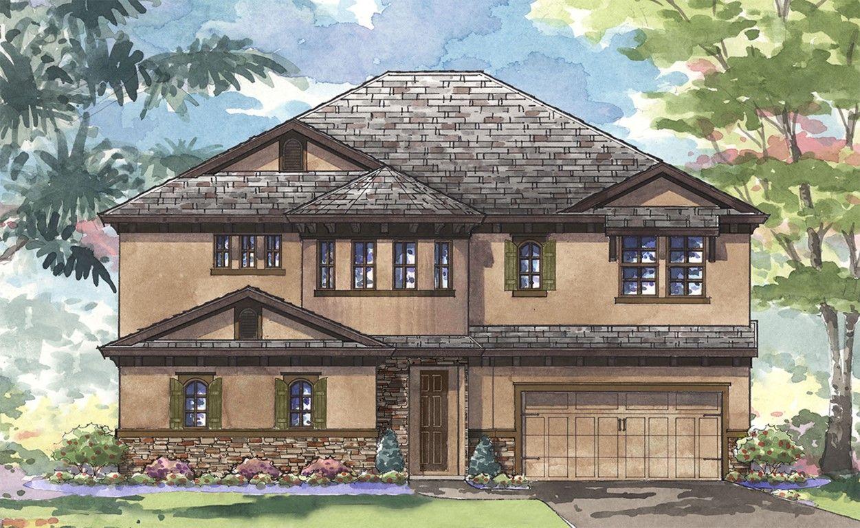 Single Family for Active at Legacy Ridge - Madeira Iii 2802 Valencia Ridge St Valrico, Florida 33596 United States