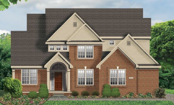 Single Family for Active at Rathmor Park - The Cheshire Grand 51619 Turnburry Drive South Lyon, Michigan 48178 United States