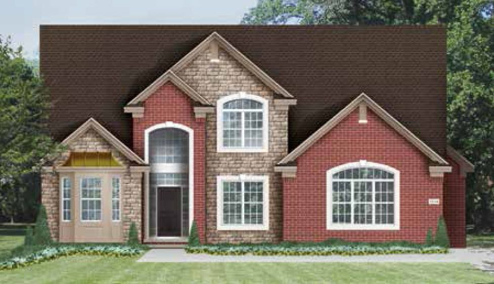 Single Family for Active at Rathmor Park - The Ashley 51619 Turnburry Drive South Lyon, Michigan 48178 United States