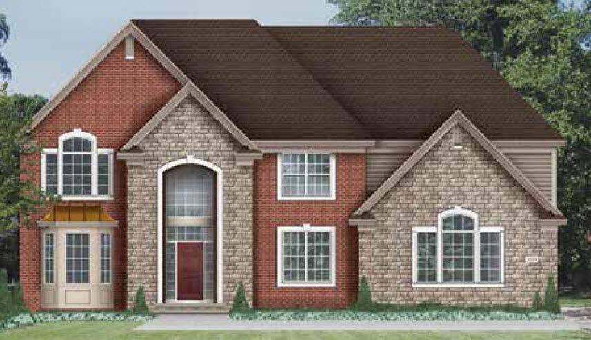 单亲家庭 为 销售 在 Rathmor Park - The Cambridge 51619 Turnburry Drive South Lyon, Michigan 48178 United States
