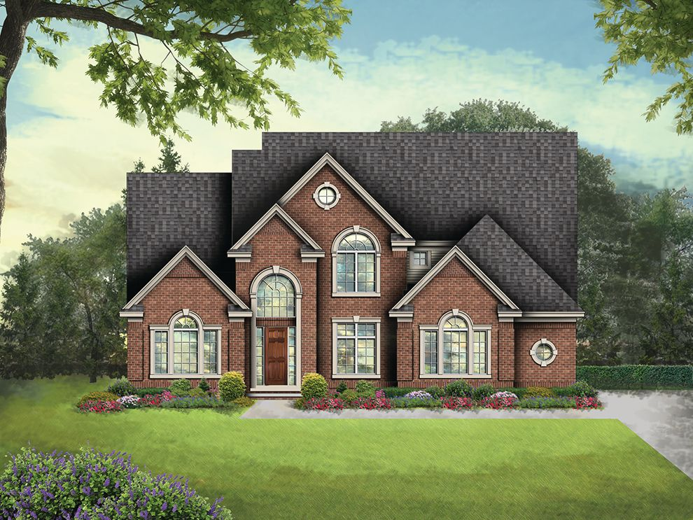 Single Family for Active at Rathmor Park - The Ashton 51619 Turnburry Drive South Lyon, Michigan 48178 United States