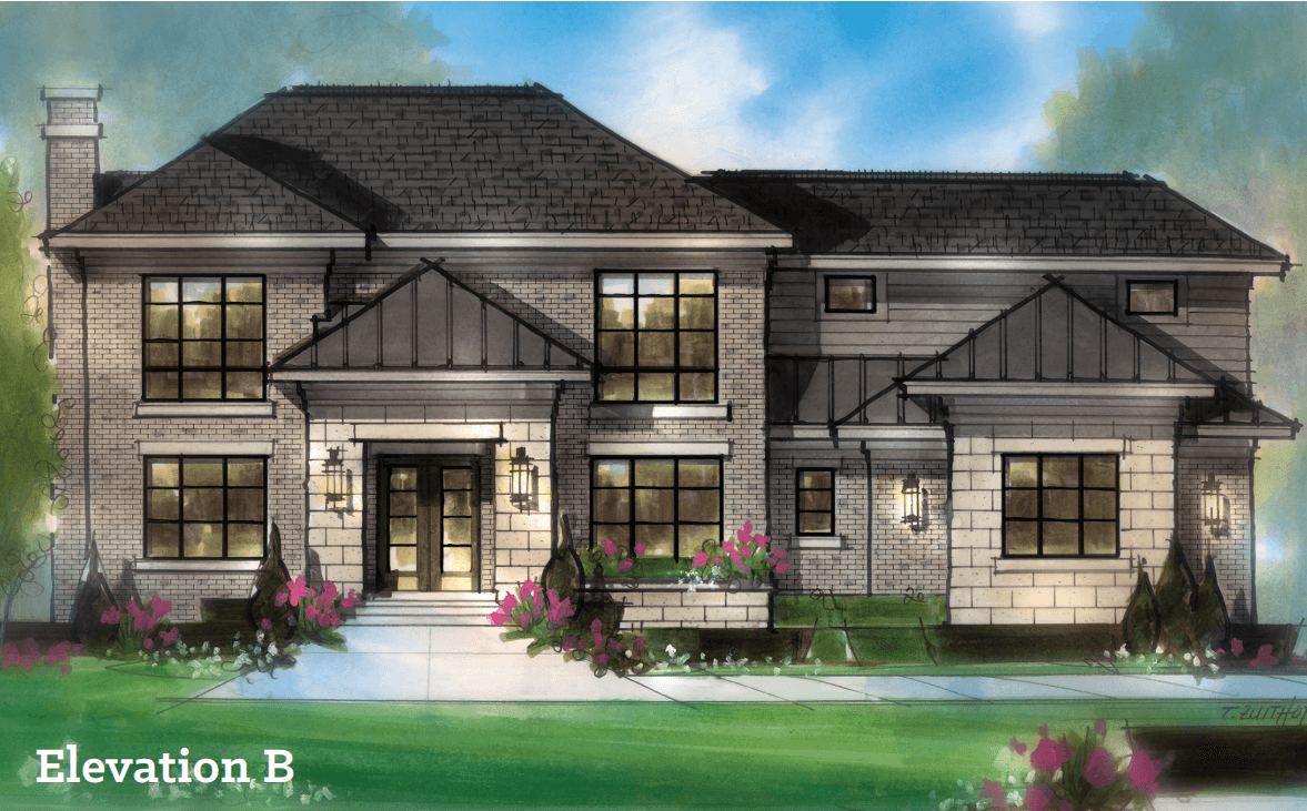 Single Family for Active at Baron Estates - The Andover Colonial 3290 Baron Dive Bloomfield Hills, Michigan 48302 United States