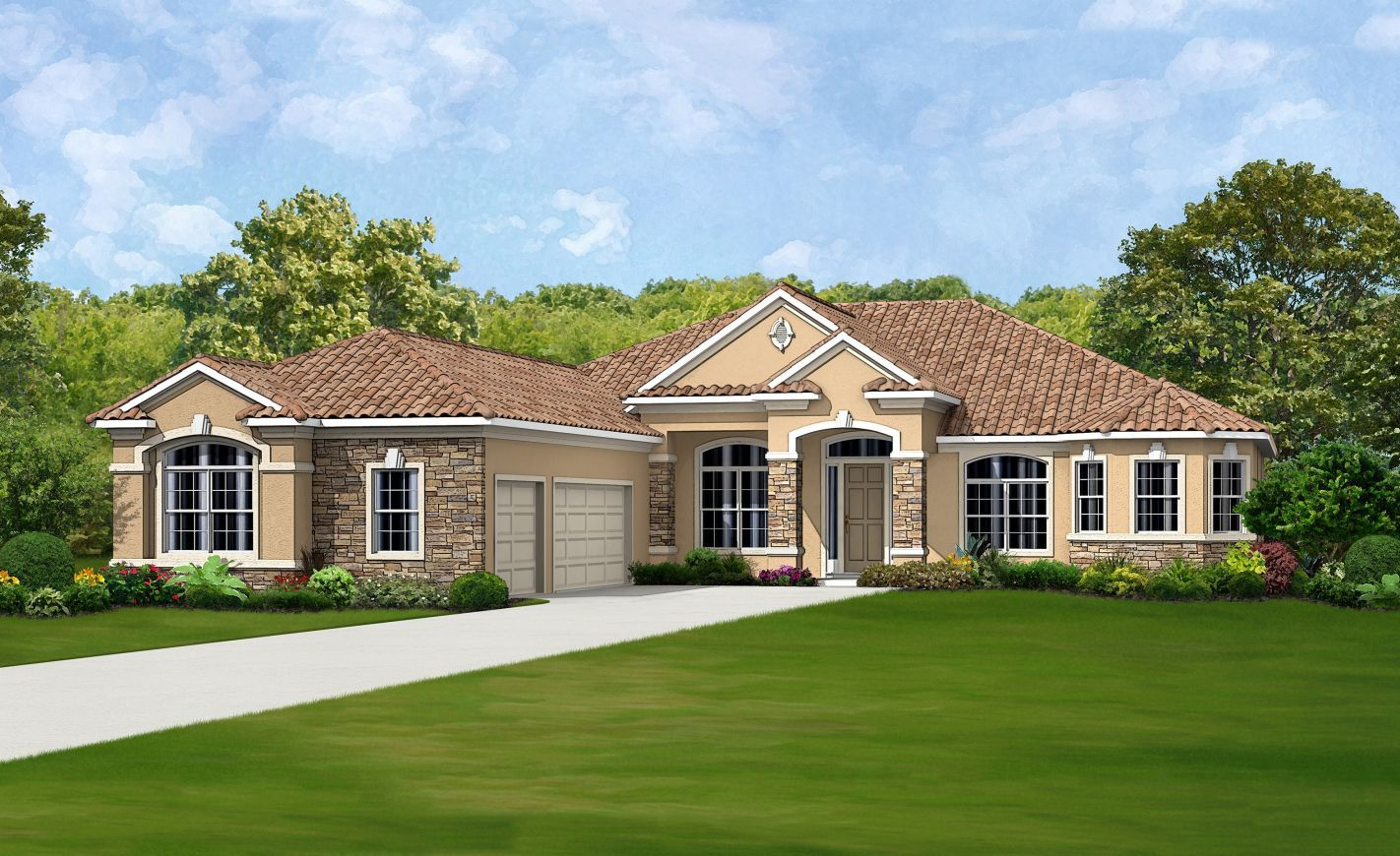 Ici homes live oak estates biltmore ii 1363297 orlando for Modern florida homes