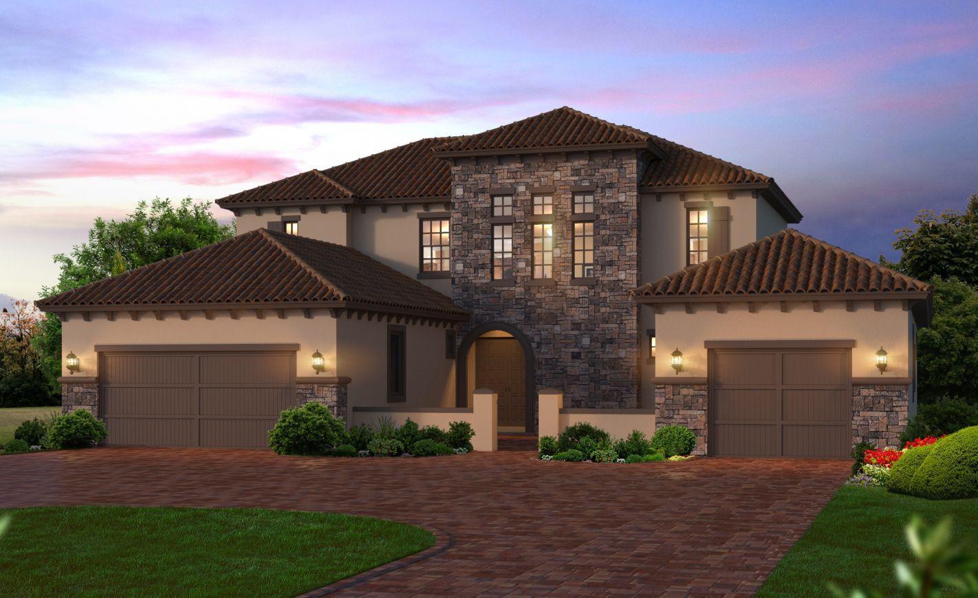 Single Family for Sale at Browns Landing - Marsala 1811 Deen's Creek Lane Port Orange, Florida 32128 United States