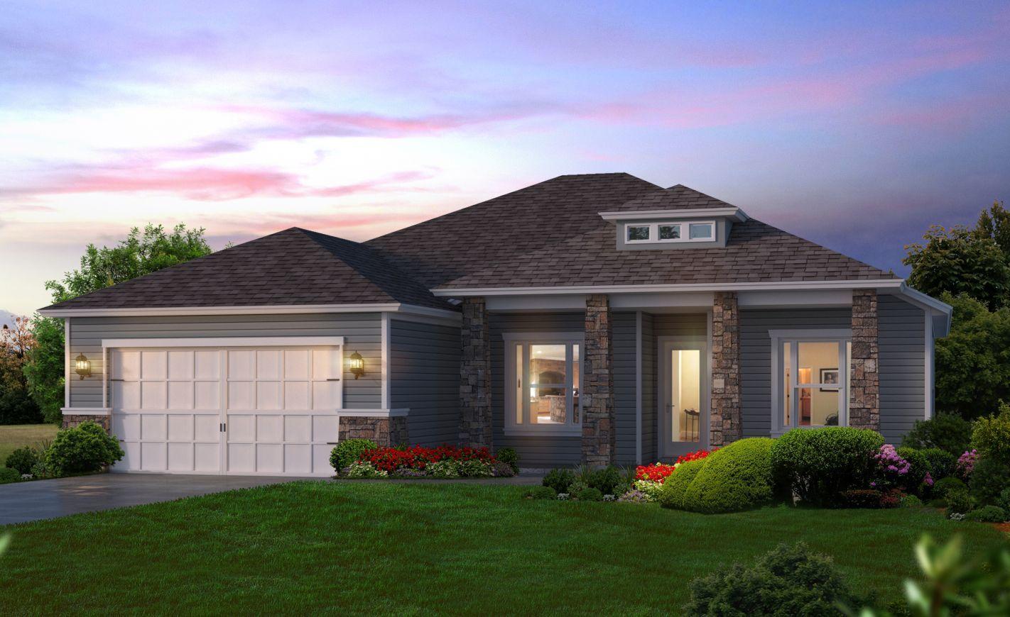 Weston oakmont in gainesville for Oakmont home builders