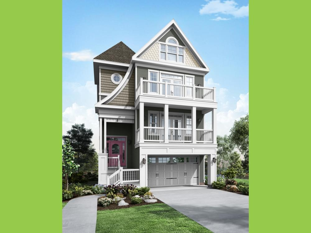 Single Family for Active at Sunset Harbour At Bethany Beach - Thayer Elevation 1 38124 River Road Ocean View, Delaware 19970 United States