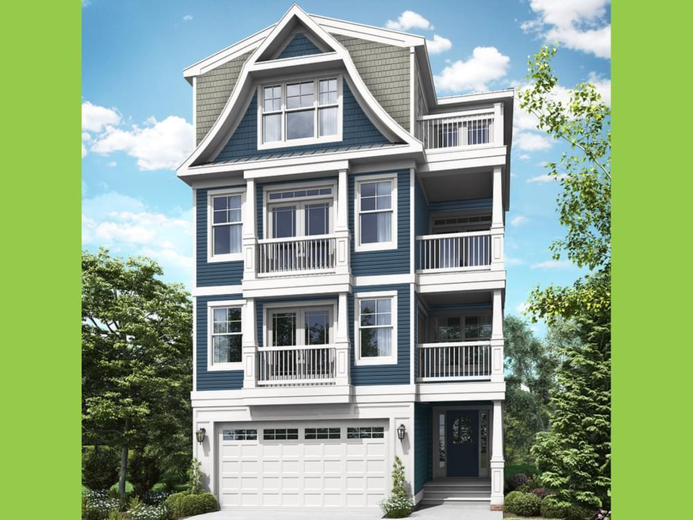 Single Family for Active at Sunset Harbour At Bethany Beach - Isakoff Elevation 3 38124 River Road Ocean View, Delaware 19970 United States