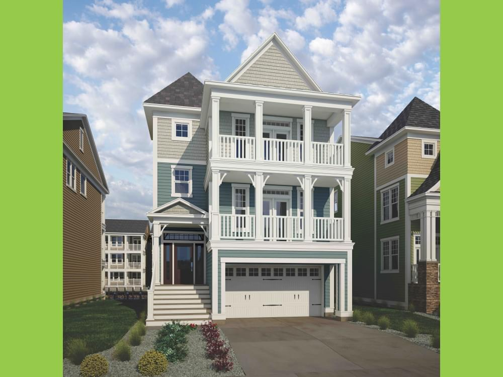 Single Family for Active at Sunset Harbour At Bethany Beach - Thayer Elevation 2 38124 River Road Ocean View, Delaware 19970 United States