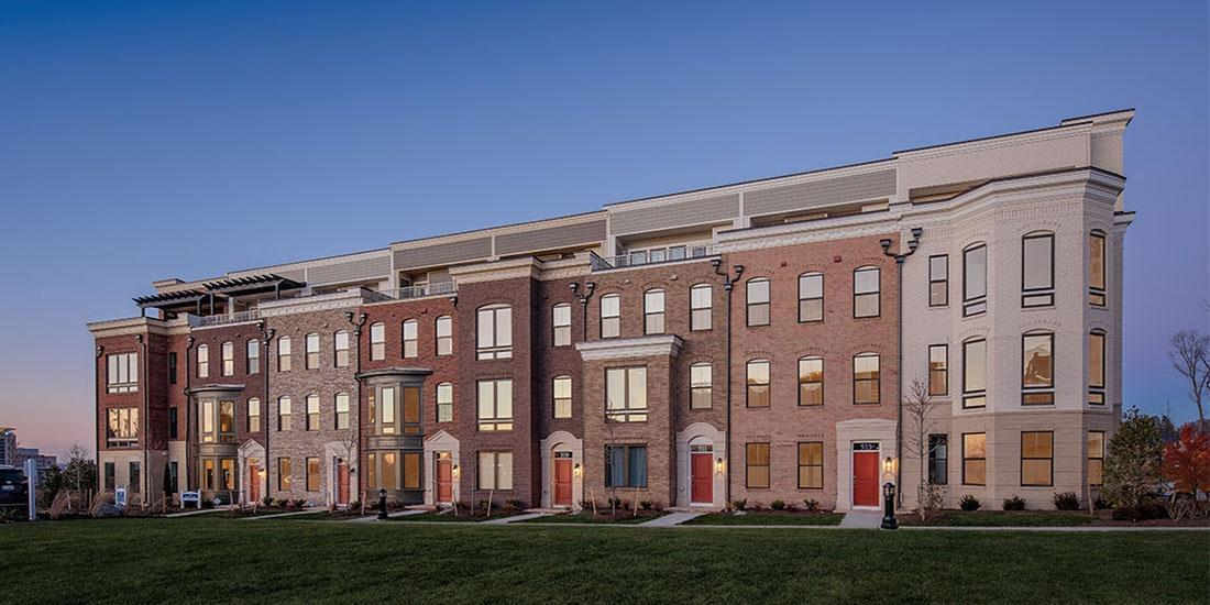 Single Family for Active at Potomac Overlook Brownstones - The Chester 503 Halliard Lane National Harbor, Maryland 20745 United States