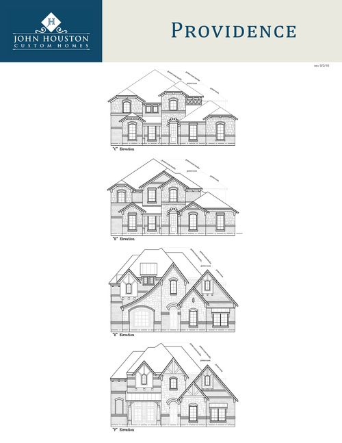 Single Family for Sale at Hidden Vistas - Providence S Cdef Game W/ Media 108 St Elias Burleson, Texas 76028 United States