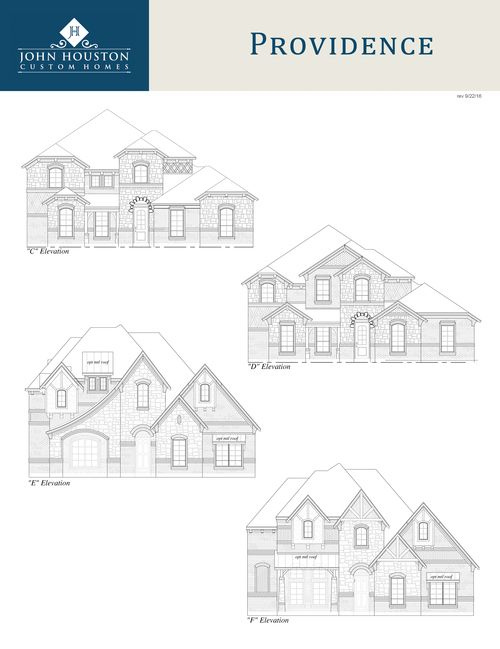 Single Family for Sale at Hidden Vistas - Providence S Cdef 108 St Elias Burleson, Texas 76028 United States