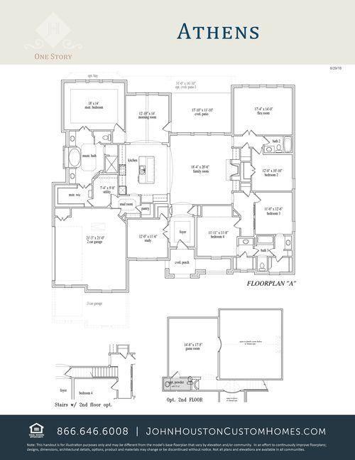 Single Family for Sale at Athens S Abc 2581 Christine Lane Midlothian, Texas 76065 United States