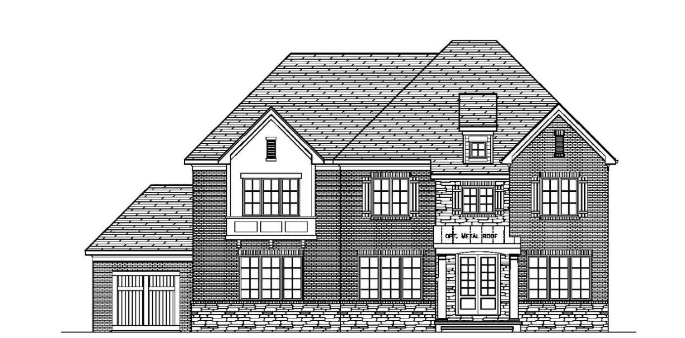 Single Family for Active at Deerfield - Canongate At Deerfield 7902 Deerfield Manor Dr Charlotte, North Carolina 28270 United States