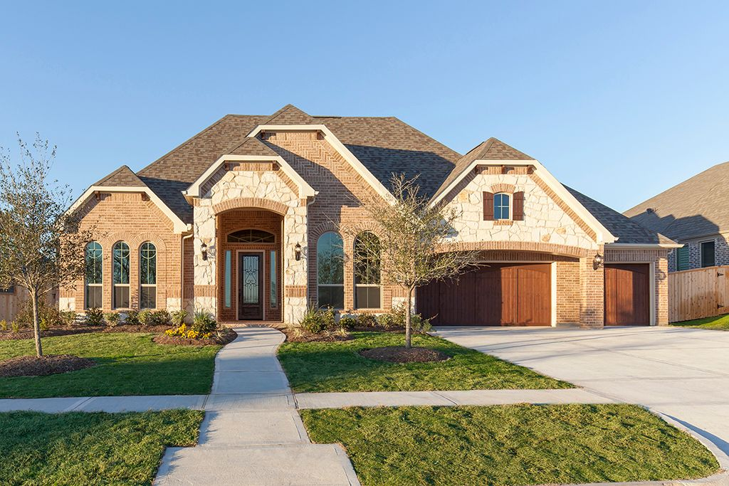 new homes for sale in Fulshear houston tx 30906 Shady Oak Drive by J. Patrick Homes