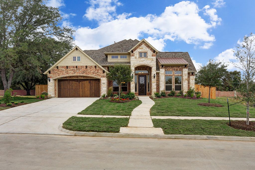 new homes for sale in Fulshear houston tx 5519 Song Bird Lane by J. Patrick Homes