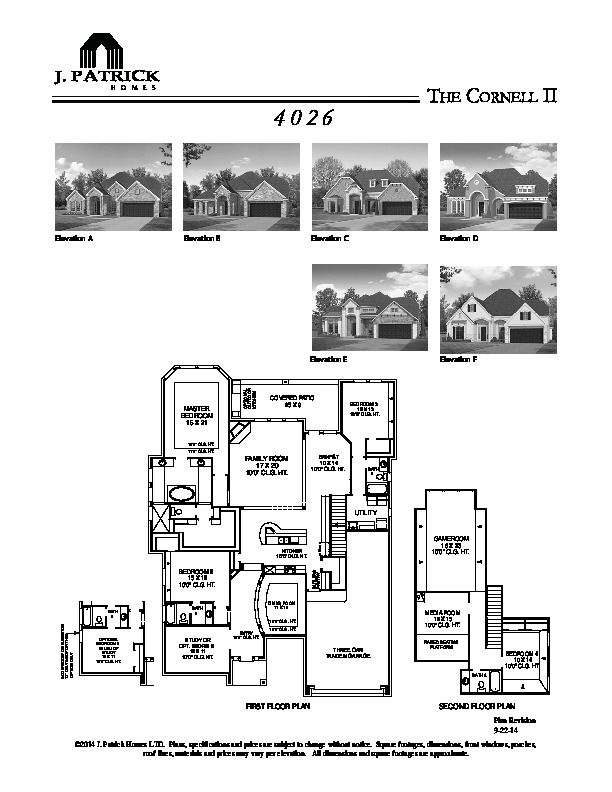 floorplan for new home for sale in richmond