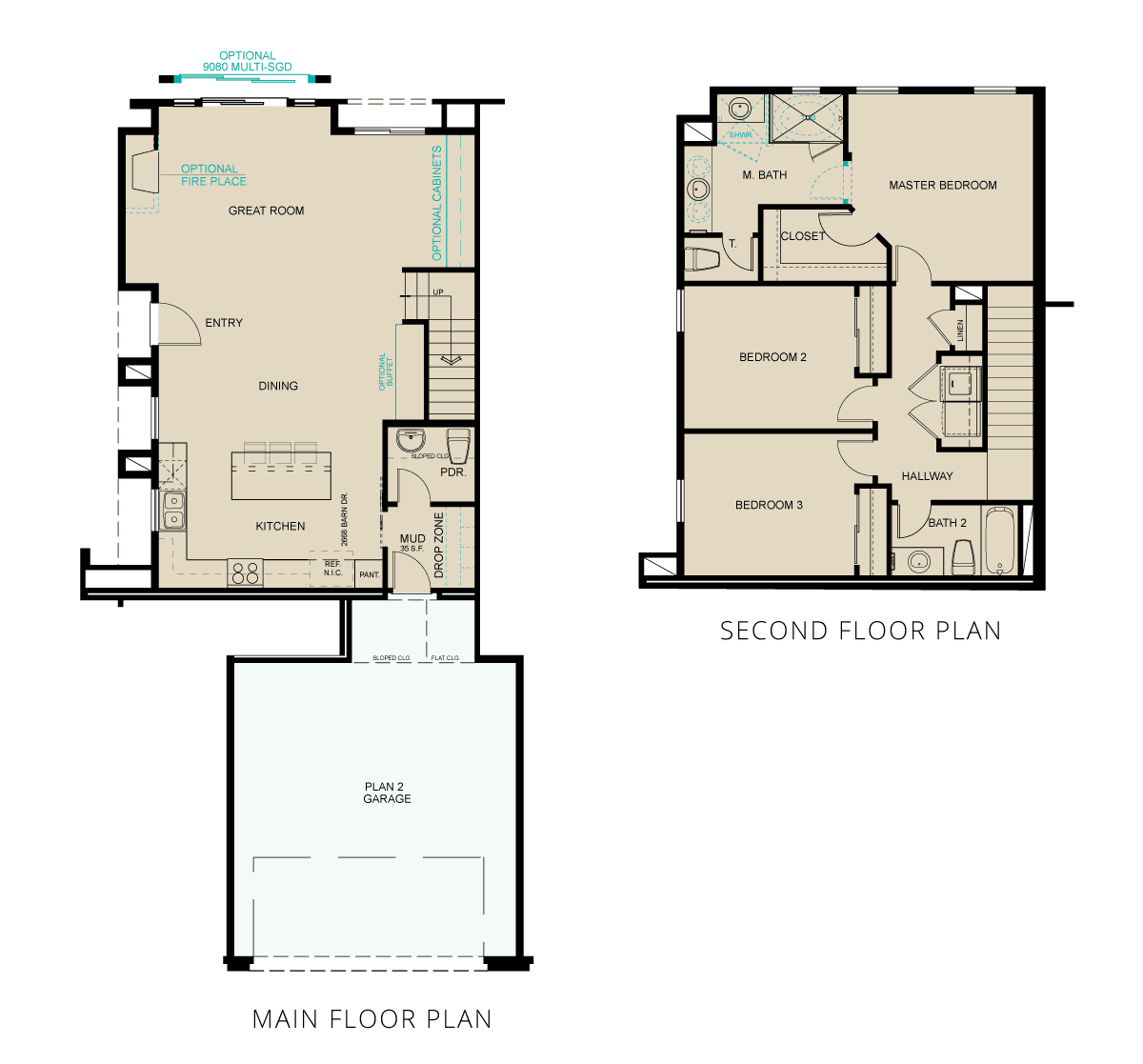 Single Family for Active at Esplanade At The Ranch - 1654 Heybourne Rd & Gilman Ave Gardnerville, Nevada 89410 United States