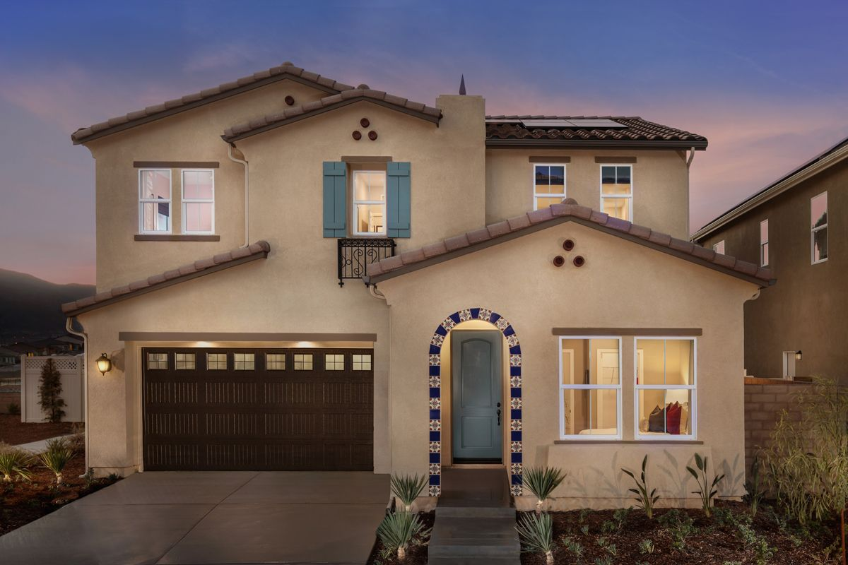 Single Family for Active at Residence Six Modeled 24695 Branch Ct. Corona, California 92883 United States