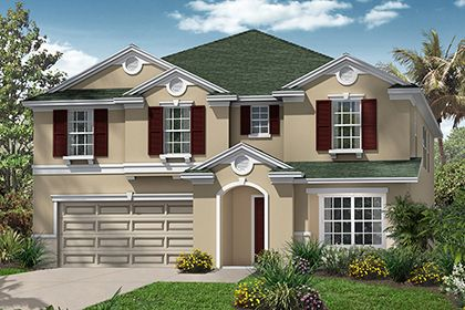 Single Family for Sale at Tuscany Woods - The Brentwood 101 Tuscany Bend St. Daytona Beach, Florida 32117 United States