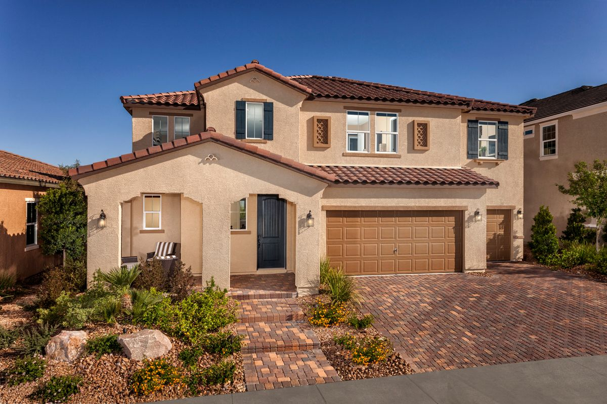 terraces at inspirada new homes in henderson nv by kb home