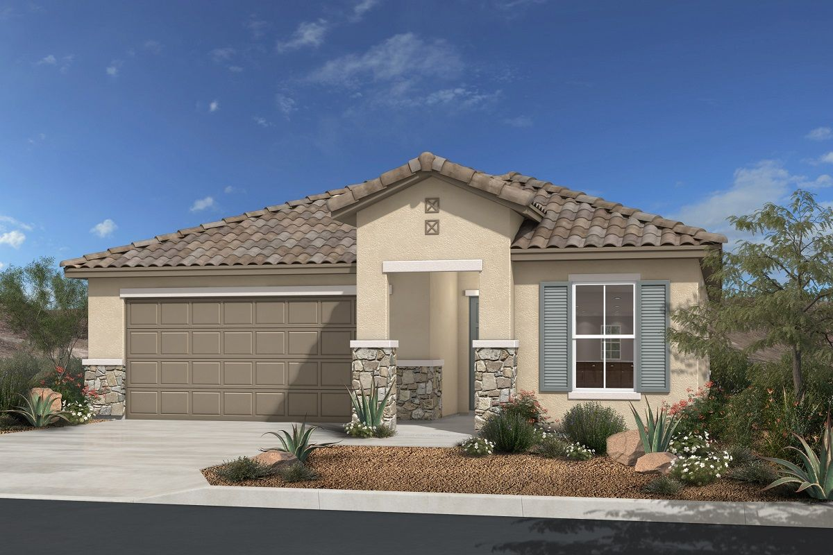 chandler park new homes in las vegas nv by kb home
