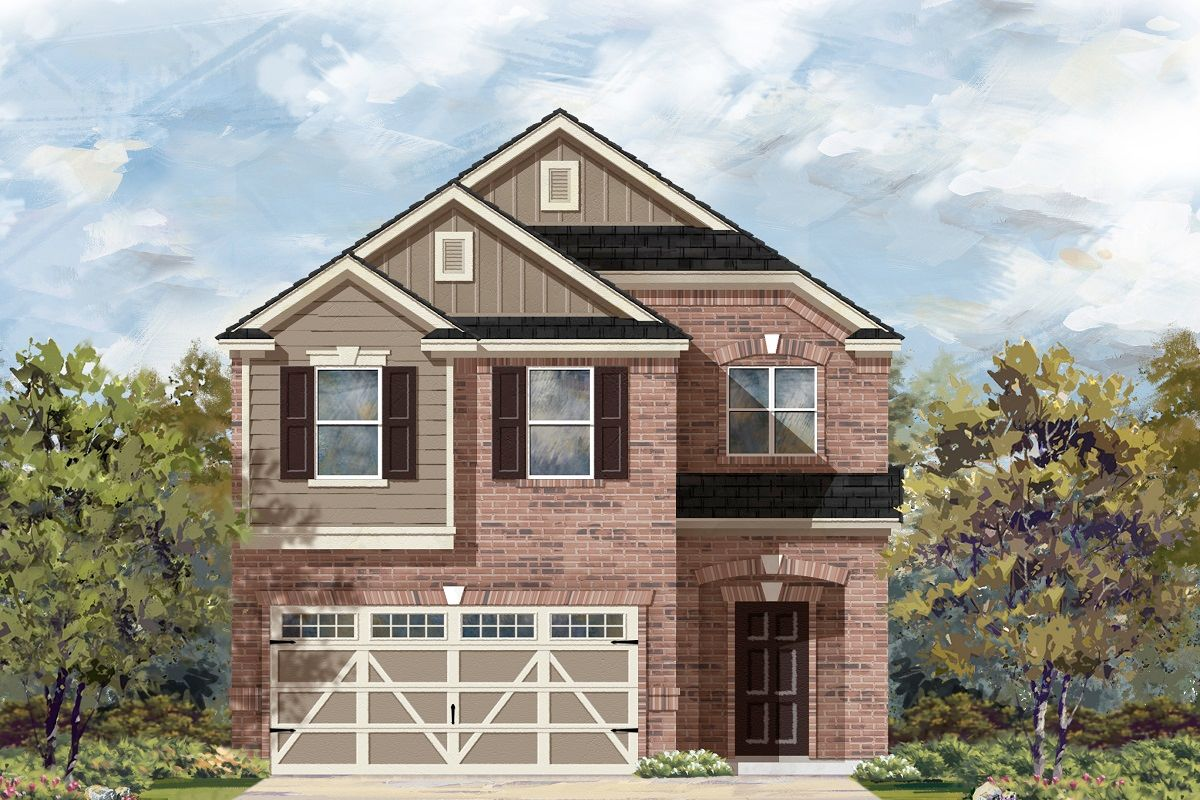 Kb Home Brentwood Villas F 2708 1408671 Austin Tx