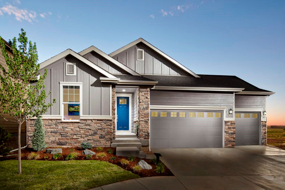 Single Family for Sale at Hawthorn 1942 Modeled 4925 Wildflower Place Dacono, Colorado 80514 United States