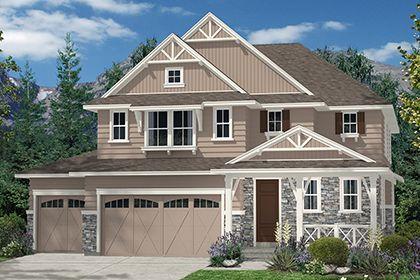 Single Family for Sale at The Estates At Ponderosa Ridge - Moreto 3042 7828 S Flat Rock Court Aurora, Colorado 80016 United States