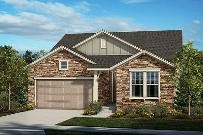 KB Home Trailside Patio Homes Crestview 1690 1218505 Thornton CO New Ho