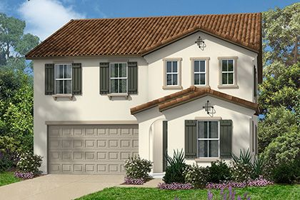 Single Family for Sale at Margate At Park Place - Residence Three Modeled 5072 S. Secret Garden Ln. Ontario, California 91764 United States