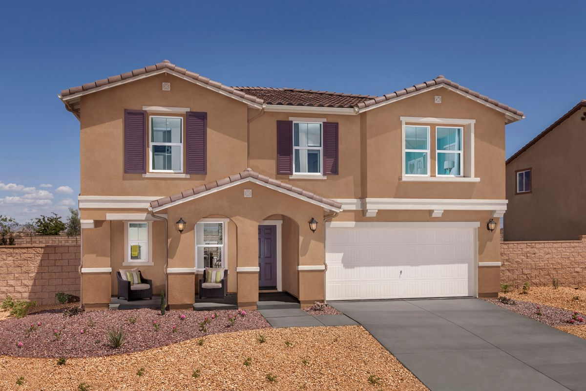 Single Family for Sale at Residence Three Modeled 14269 Covered Wagon Ct Victorville, California 92394 United States