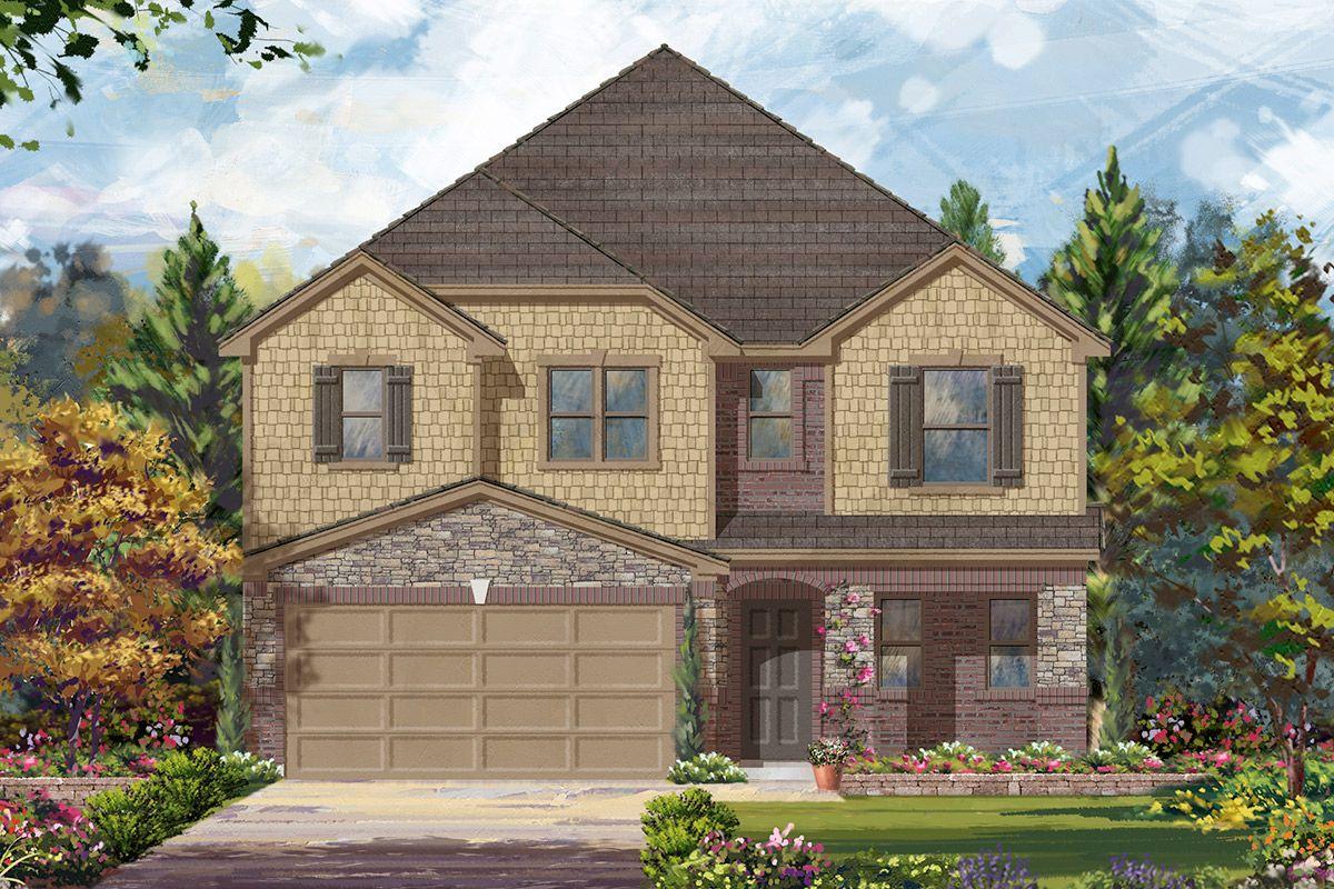 Kb home brookwood forest springs plan 2372 1207910 for Brookwood home builders