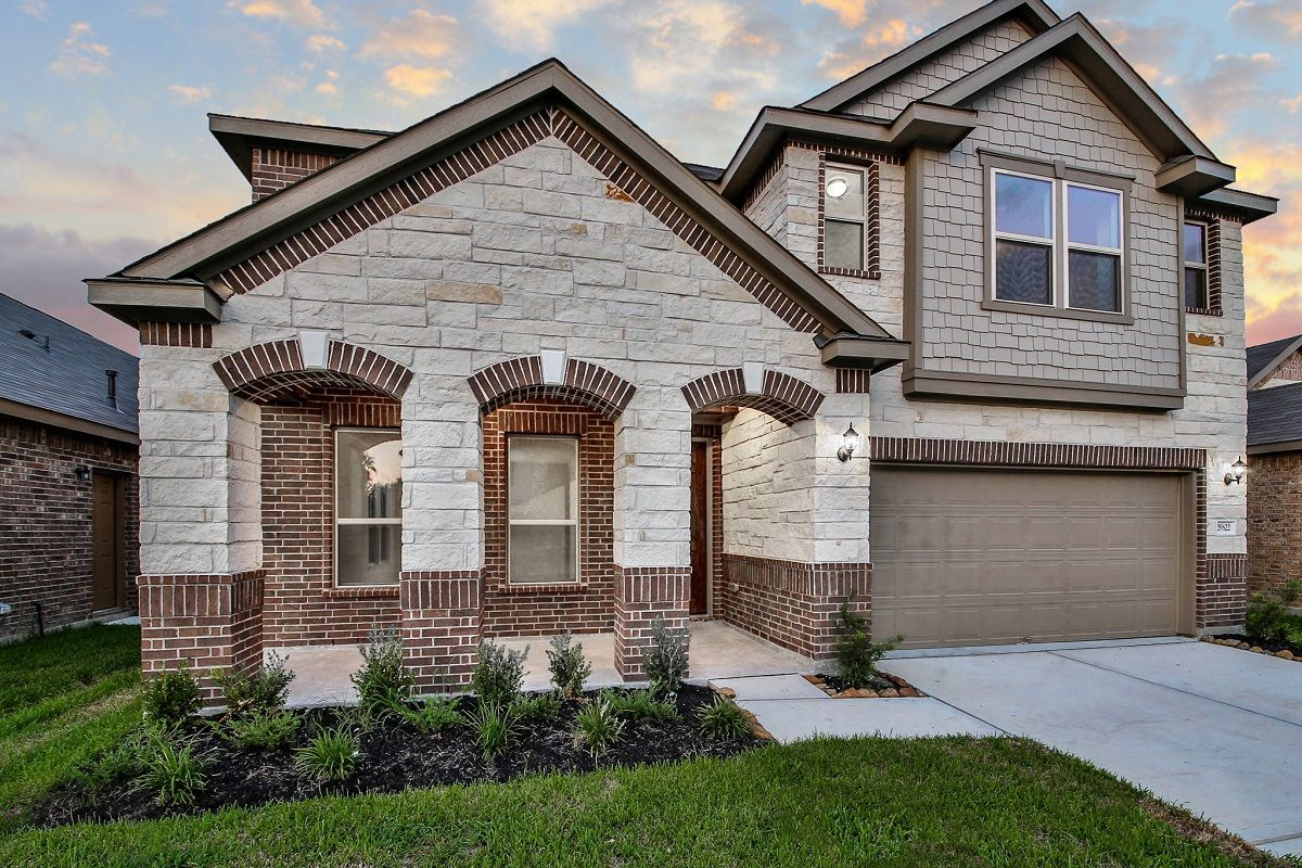 Single Family for Sale at Plan 3028 Modeled 20622 Pioneer Oak Ln. Kingwood, Texas 77346 United States