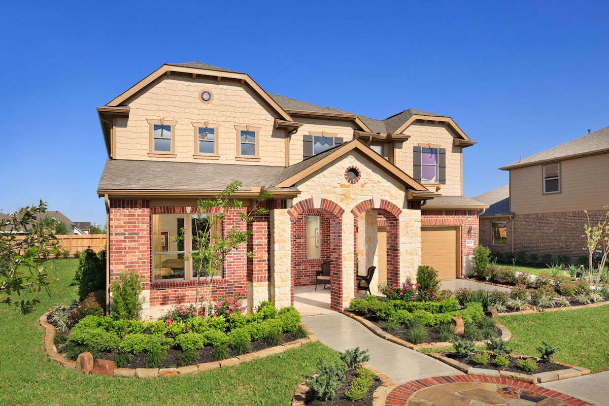 Brookwood forest landing new homes in porter tx by kb home for Brookwood home builders