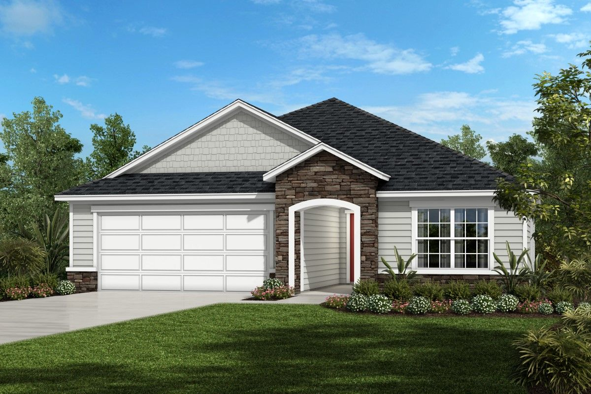 Single Family for Sale at The Hayden Modeled 97476 Albatross Drive Yulee, Florida 32097 United States