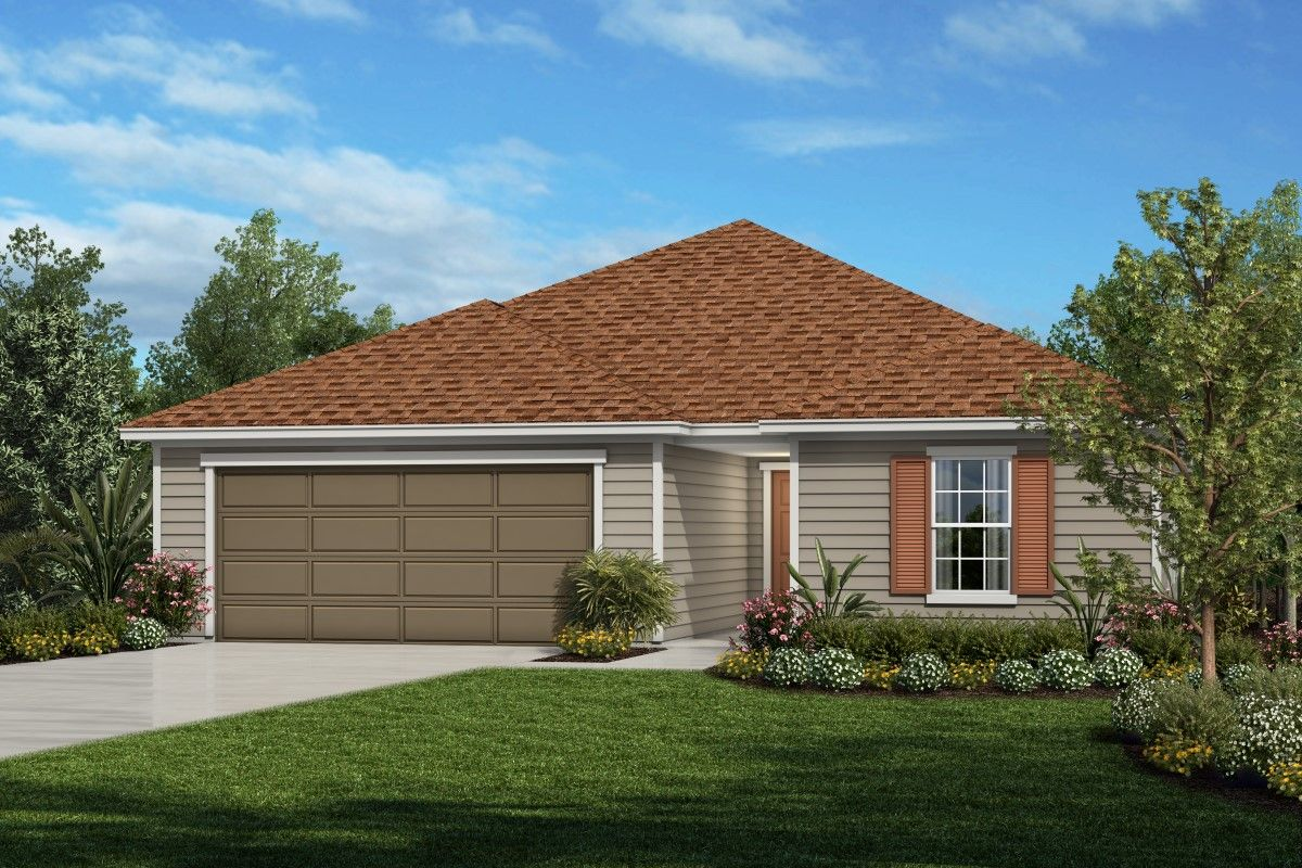 Single Family for Sale at The Hayden Modeled 97557 Albatross Dr. Yulee, Florida 32097 United States