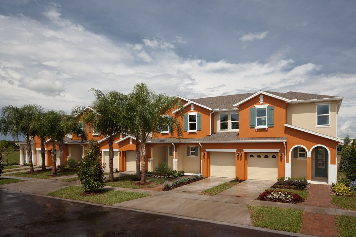 compass bay townhomes new homes in kissimmee fl by kb home