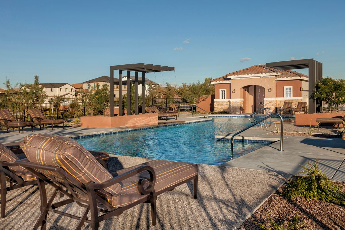 Copper crest villas collection new homes in mesa az by kb home for Pools in mesa az