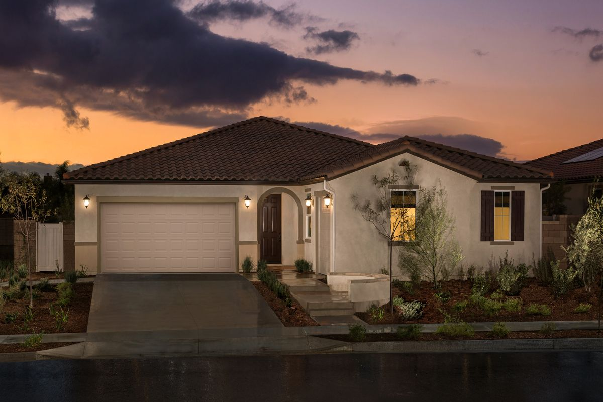 Single Family for Sale at Residence Three Modeled 36047 Pepperdine Court Winchester, California 92596 United States