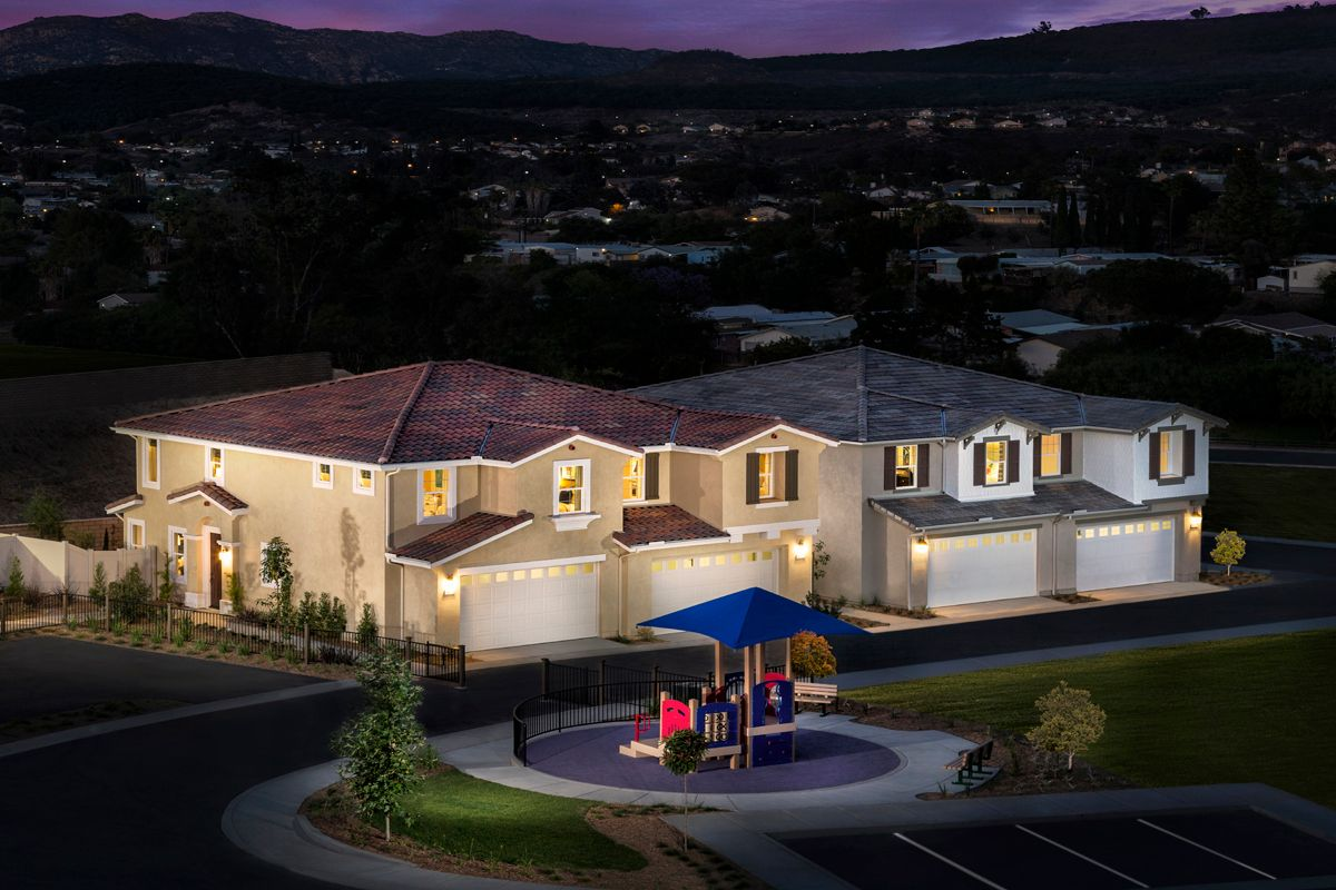 Multi Family for Sale at Residence Three Modeled 13125 Beacon View Lane Lakeside, California 92040 United States