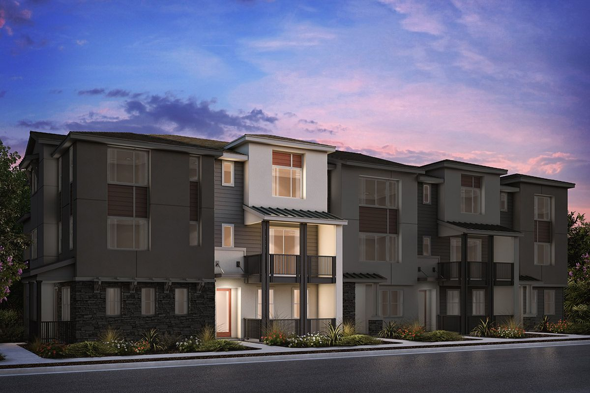 Multi Family for Sale at Circuit - Plan 4 1210 California Circle Milpitas, California 95035 United States