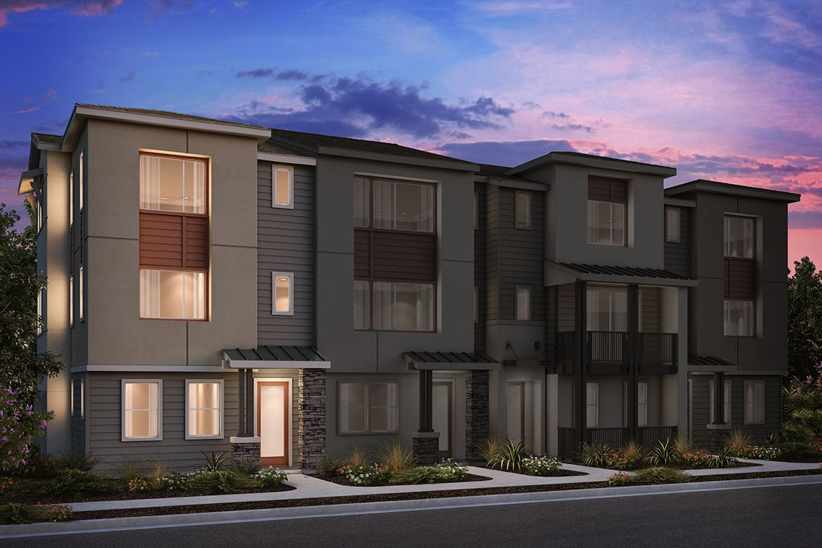 Multi Family for Sale at Circuit - Plan 4 Alt-A 1210 California Circle Milpitas, California 95035 United States