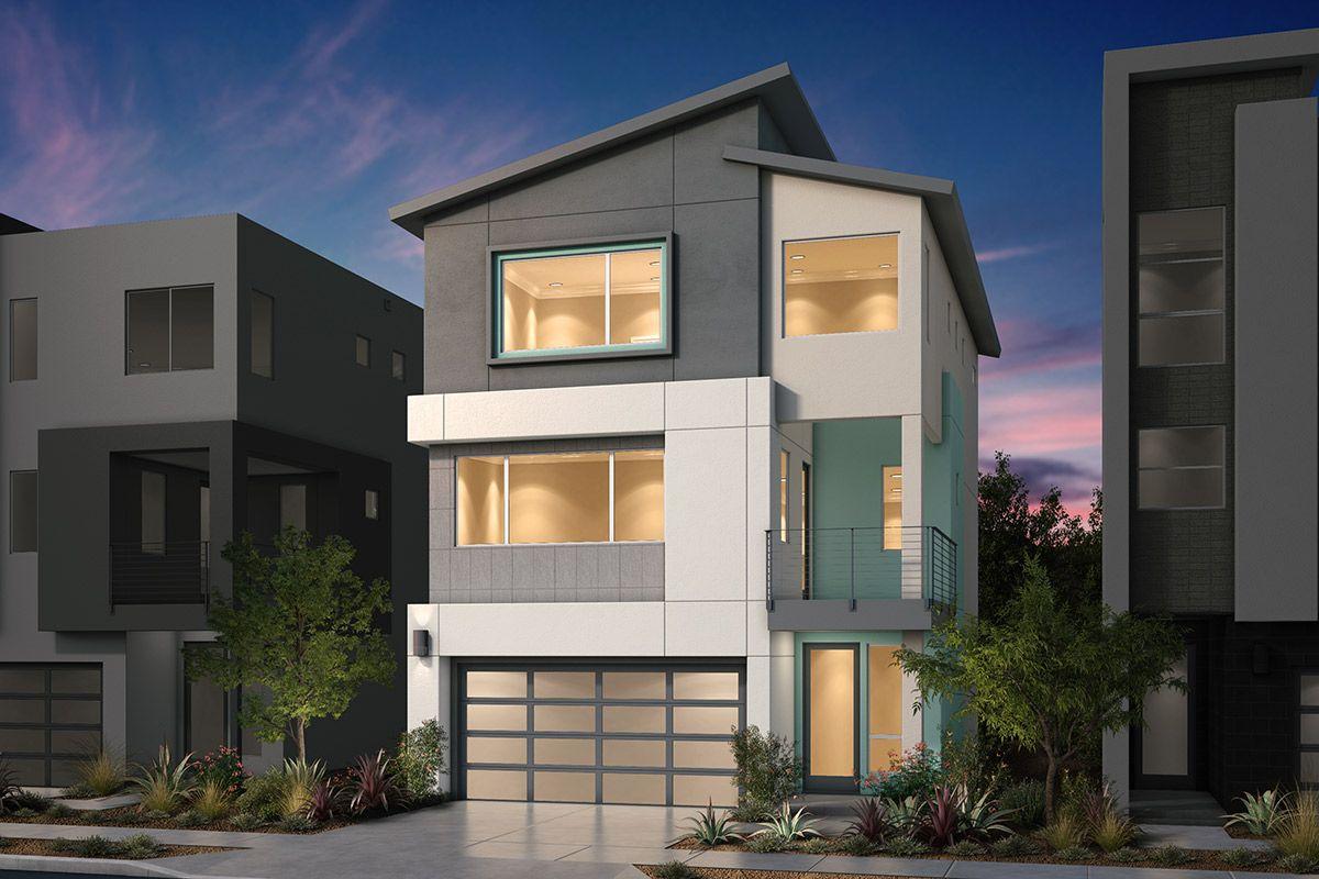 单亲家庭 为 销售 在 Platinum Ii At Communications Hill - Plan 2 Modeled Communications Hill Blvd And Hillsdale Ave. San Jose, California 95136 United States